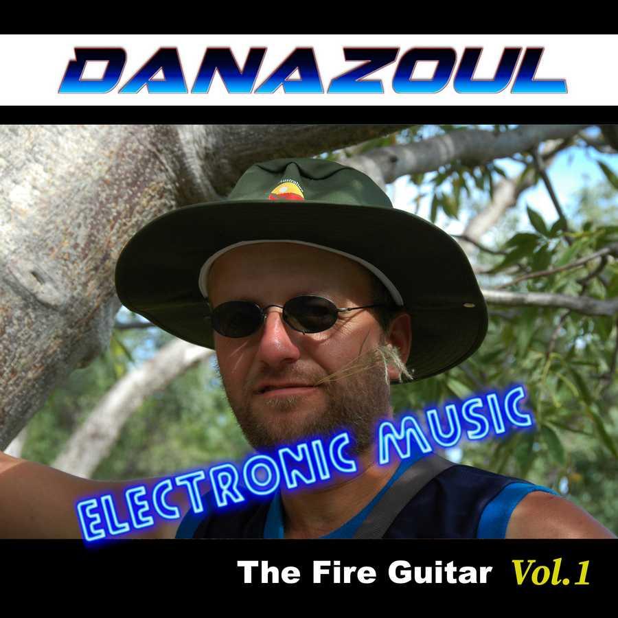 The Fire Guitar by Danazoul Electronic Music